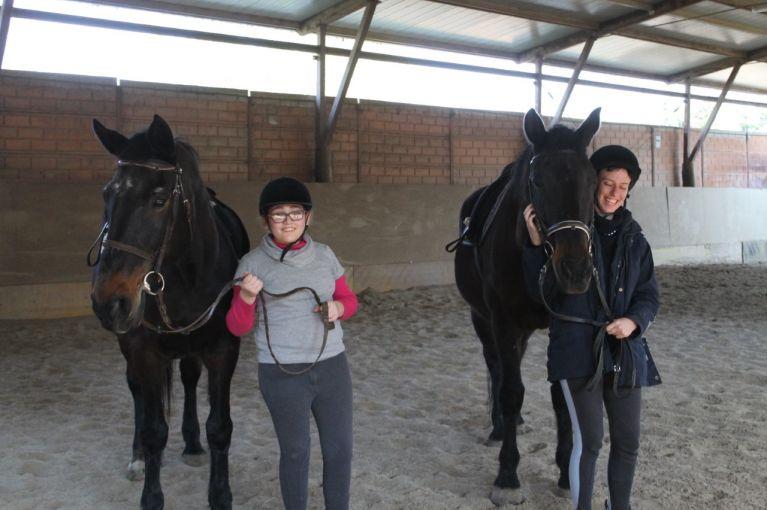 Ippoterapia Equitazione Roma Via Cassia Circolo Ippico Durlindana