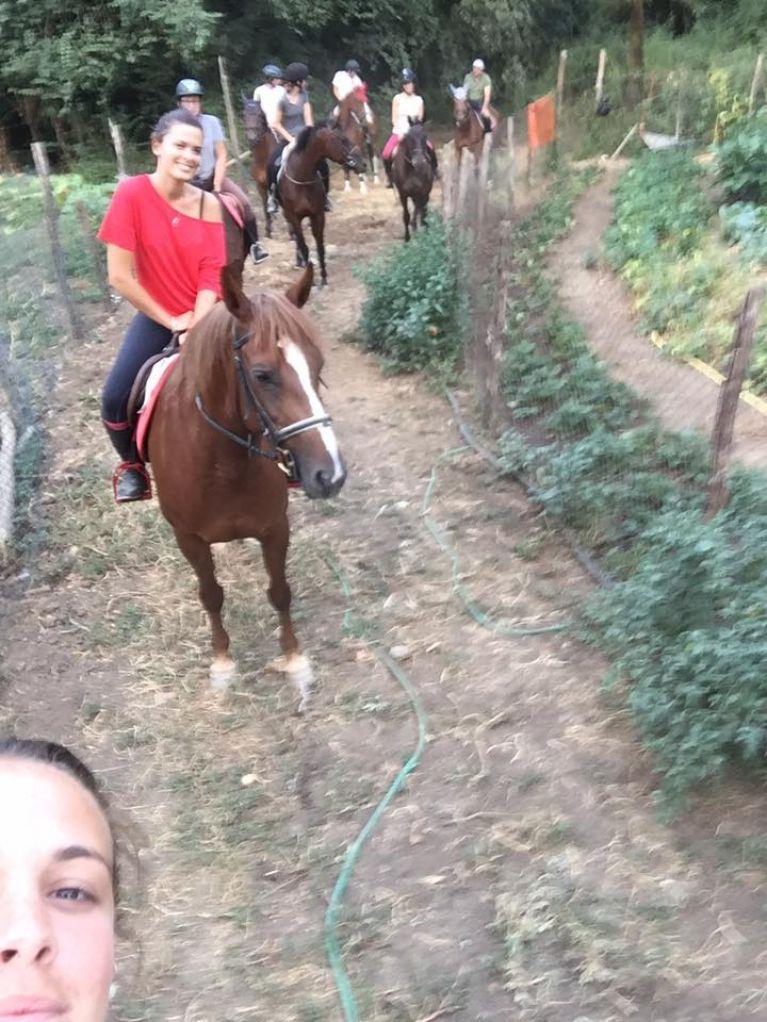 Passeggiata a Cavallo Roma Via Cassia  Circolo Ippico Durlindana