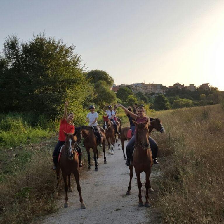 Passeggiata a Cavallo Roma  Nord Circolo Ippico Durlindana